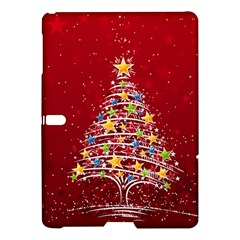 Colorful Christmas Tree Samsung Galaxy Tab S (10.5 ) Hardshell Case