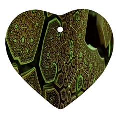 Fractal Complexity 3d Dimensional Ornament (Heart)