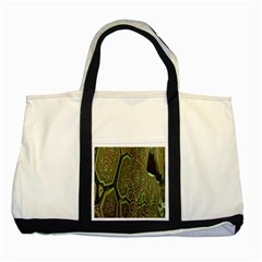 Fractal Complexity 3d Dimensional Two Tone Tote Bag