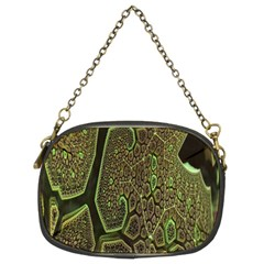 Fractal Complexity 3d Dimensional Chain Purses (Two Sides)
