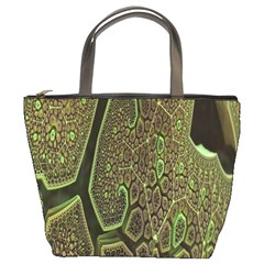 Fractal Complexity 3d Dimensional Bucket Bags