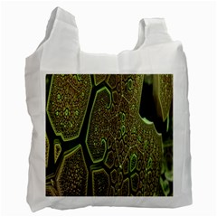 Fractal Complexity 3d Dimensional Recycle Bag (One Side)