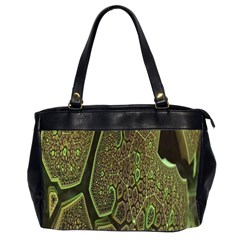 Fractal Complexity 3d Dimensional Office Handbags (2 Sides)