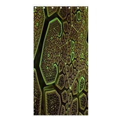 Fractal Complexity 3d Dimensional Shower Curtain 36  x 72  (Stall)
