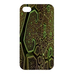 Fractal Complexity 3d Dimensional Apple iPhone 4/4S Hardshell Case