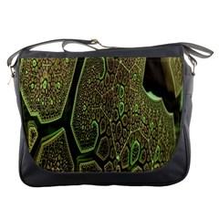 Fractal Complexity 3d Dimensional Messenger Bags
