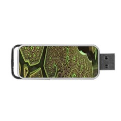 Fractal Complexity 3d Dimensional Portable USB Flash (Two Sides)