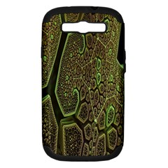 Fractal Complexity 3d Dimensional Samsung Galaxy S Iii Hardshell Case (pc+silicone)