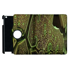 Fractal Complexity 3d Dimensional Apple Ipad 3/4 Flip 360 Case