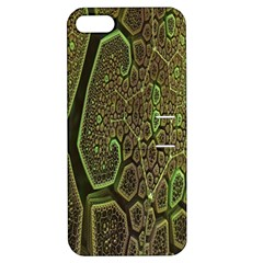 Fractal Complexity 3d Dimensional Apple iPhone 5 Hardshell Case with Stand