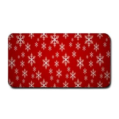Christmas Snow Flake Pattern Medium Bar Mats