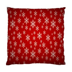 Christmas Snow Flake Pattern Standard Cushion Case (One Side)
