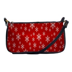 Christmas Snow Flake Pattern Shoulder Clutch Bags
