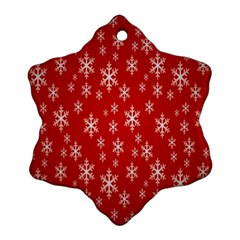 Christmas Snow Flake Pattern Ornament (Snowflake)