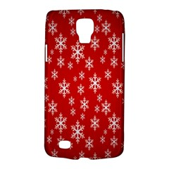 Christmas Snow Flake Pattern Galaxy S4 Active