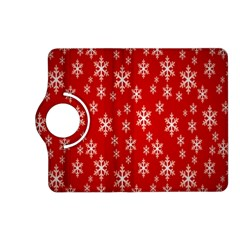 Christmas Snow Flake Pattern Kindle Fire HD (2013) Flip 360 Case