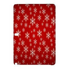 Christmas Snow Flake Pattern Samsung Galaxy Tab Pro 10 1 Hardshell Case