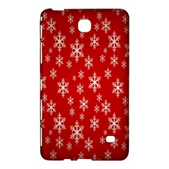 Christmas Snow Flake Pattern Samsung Galaxy Tab 4 (7 ) Hardshell Case