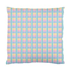 Grid Squares Texture Pattern Standard Cushion Case (One Side)
