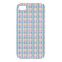 Grid Squares Texture Pattern Apple iPhone 4/4S Hardshell Case