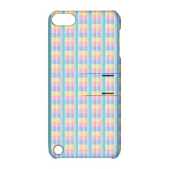 Grid Squares Texture Pattern Apple iPod Touch 5 Hardshell Case with Stand