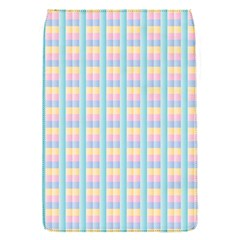 Grid Squares Texture Pattern Flap Covers (S)