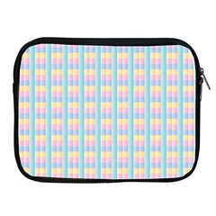 Grid Squares Texture Pattern Apple Ipad 2/3/4 Zipper Cases