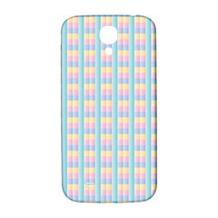 Grid Squares Texture Pattern Samsung Galaxy S4 I9500/I9505  Hardshell Back Case