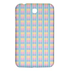 Grid Squares Texture Pattern Samsung Galaxy Tab 3 (7 ) P3200 Hardshell Case