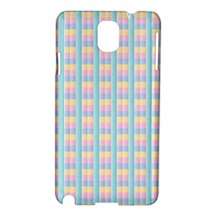 Grid Squares Texture Pattern Samsung Galaxy Note 3 N9005 Hardshell Case