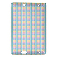 Grid Squares Texture Pattern Amazon Kindle Fire HD (2013) Hardshell Case