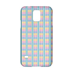 Grid Squares Texture Pattern Samsung Galaxy S5 Hardshell Case