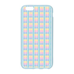 Grid Squares Texture Pattern Apple Seamless iPhone 6/6S Case (Color)