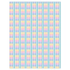 Grid Squares Texture Pattern Drawstring Bag (large)