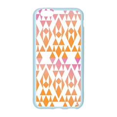 Geometric Abstract Orange Purple Pattern Apple Seamless iPhone 6/6S Case (Color)