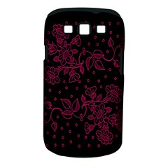 Pink Floral Pattern Background Wallpaper Samsung Galaxy S Iii Classic Hardshell Case (pc+silicone)