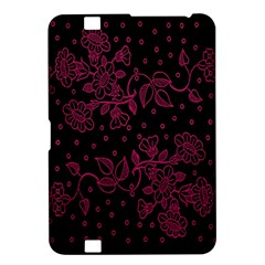 Pink Floral Pattern Background Wallpaper Kindle Fire HD 8.9