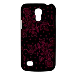 Pink Floral Pattern Background Wallpaper Galaxy S4 Mini