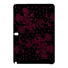 Pink Floral Pattern Background Wallpaper Samsung Galaxy Tab Pro 12 2 Hardshell Case