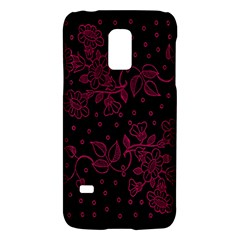 Pink Floral Pattern Background Wallpaper Galaxy S5 Mini