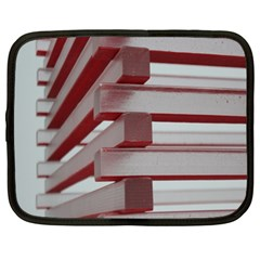 Red Sunglasses Art Abstract Netbook Case (XL)
