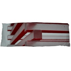Red Sunglasses Art Abstract Body Pillow Case Dakimakura (Two Sides)