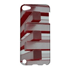 Red Sunglasses Art Abstract Apple Ipod Touch 5 Hardshell Case