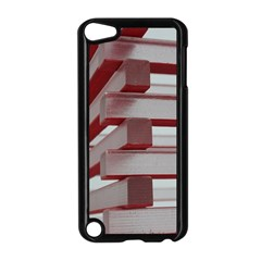 Red Sunglasses Art Abstract Apple iPod Touch 5 Case (Black)