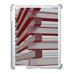 Red Sunglasses Art Abstract Apple Ipad 3/4 Case (white)