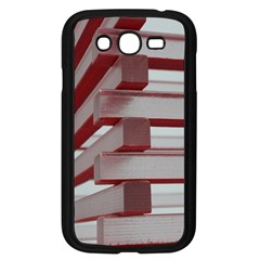 Red Sunglasses Art Abstract Samsung Galaxy Grand DUOS I9082 Case (Black)