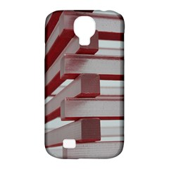 Red Sunglasses Art Abstract Samsung Galaxy S4 Classic Hardshell Case (PC+Silicone)