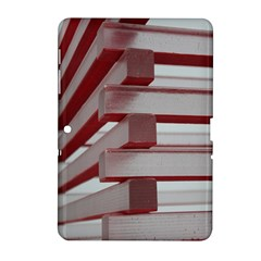 Red Sunglasses Art Abstract Samsung Galaxy Tab 2 (10.1 ) P5100 Hardshell Case