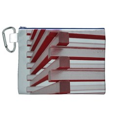 Red Sunglasses Art Abstract Canvas Cosmetic Bag (XL)