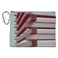 Red Sunglasses Art Abstract Canvas Cosmetic Bag (XXL)